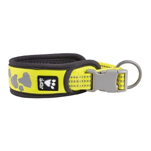Foto COLLARE W/E WARRIOR GIALLO FLUO 25-35 CM