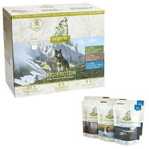 Foto ISEGRIM ROOTS PACK DUE PROTEINE 6X410G